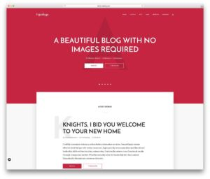 wordpress_theme_for_writers